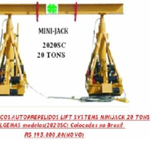 PÓRTICO LIFT SYSTEMS MINIJACKS 2020SC 20 TON.