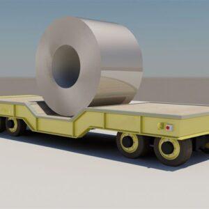 CARRETA AUTOPROPELIDA PARA ÁREA FABRIL - até 160 ton.