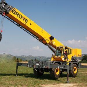 GROVE RT540E 2012 - super novo