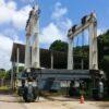 PÓRTICO SOBRE PNEUS 70 ton. 2008 - ESPECIAL - baixou preço