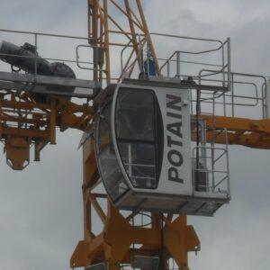 GRUAS POTAIN MC125 2012 - 3 unid. IMPECÁVEIS