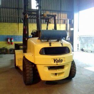 EMPILHADEIRA YALE 155VX 2008 - 7 ton. - GLP