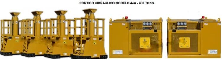 PÓRTICO HIDRÁULICO LIFT SYSTEMS 44A