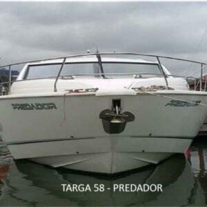 Barco TARGA 58GT - PREDADOR - FAIRLINE BOATS ano 2013 - Top de linha - Excelente