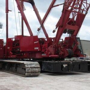 MANITOWOC M2250 – 2009 – 300 ton.
