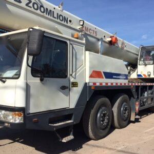 ZOOMLION ZMC - 2012 - 75 ton.