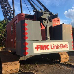 LINK-BELT LS418A 1987 - 110 ton. - Impecável