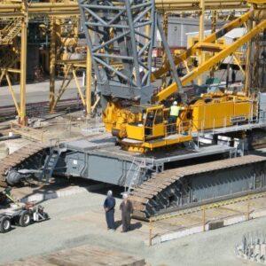 LIEBHERR LR1800 2001 - 1000 ton.