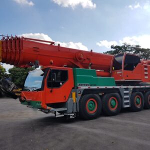 LIEBHERR LTM-1100 4.1 2006 - 100 ton.