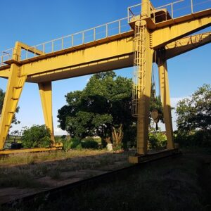 PORTICO ROLANTE CIMEF 1990 - 40 ton. - TRILHOS