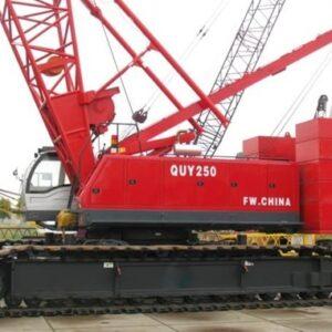 FUWA QUY 250 2010 e 2013 - 250 ton. - 4 unidades