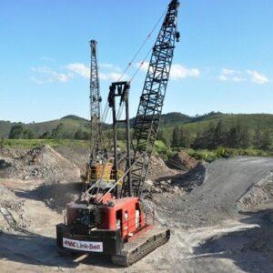 LINK-BELT LS418A 2012 - 110 ton. - TEM QUEDA LIVRE