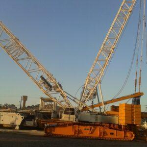 LIEBHERR LR 1400 1998 400 ton.