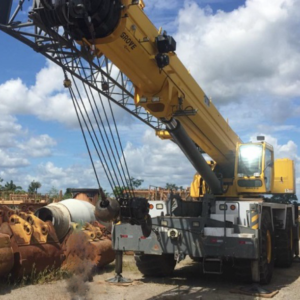 Guindaste Grove RT 9130E-2 - 2012 - 120 ton