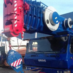 Grove GMK-5100 - 2005 - 100 ton.