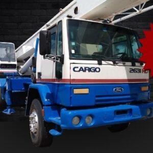 MADAL MD30 2005 - Ford Cargo 2631 2005 - 3 Unidades